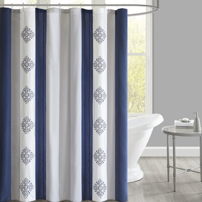 Hankins Embroidered Shower Curtain