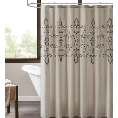 Tynes Embroidered Shower Curtain