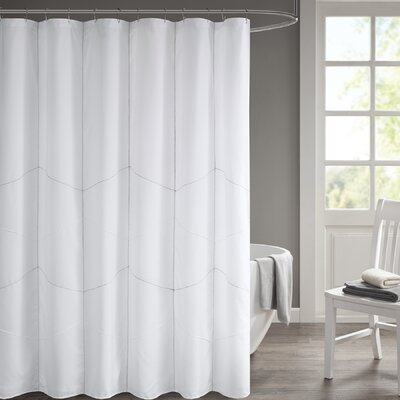 Easley Solid Shower Curtain