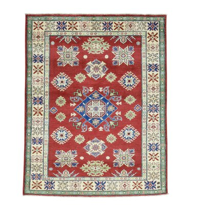 One-of-a-Kind Lawerence Geometric Oriental Hand-Knotted Area Rug