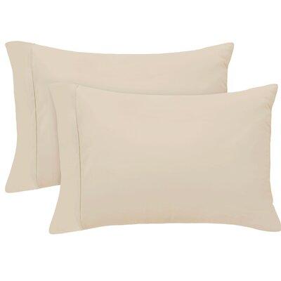 Pillow Case Size: King, Color: Linen