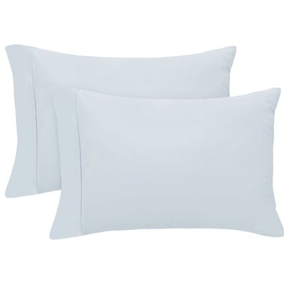 Pillow Case Size: Standard/Twin, Color: Sky Blue