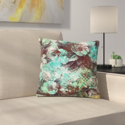 Li Zamperini Magic Outdoor Throw Pillow Size: 18