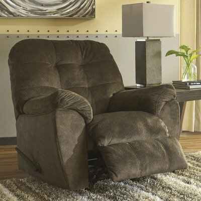 Parthena Manual Rocker Recliner Upholstery: Earth