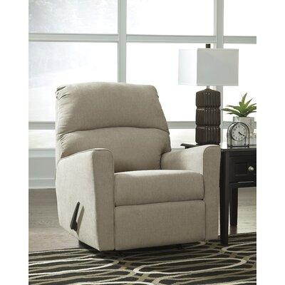Parthena Manual Rocker Recliner Upholstery: Quartz