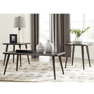 Manuel 3 Piece Coffee Table Set