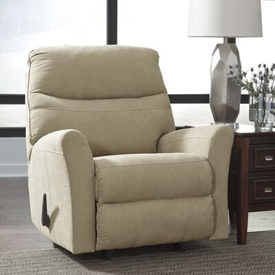 Montufar Manual Rocker Recliner Upholstery: Cocoa