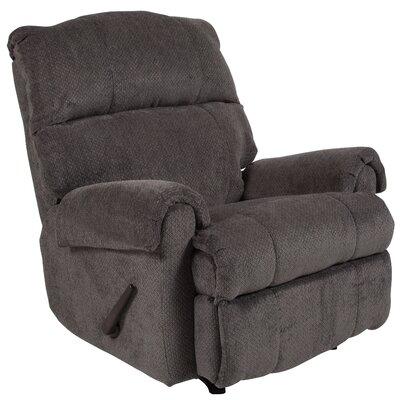 Otis Manual Rocker Recliner Upholstery: Gray