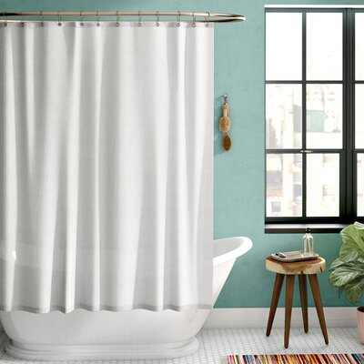 Burban Shower Curtain Liner Color: Silver