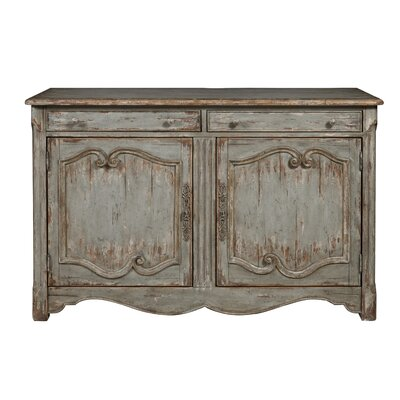 Henriksen Coastal Inspired 2 Door Bar Cabinet