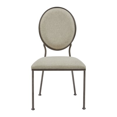 Updegraff Oval Back Upholstered Dining Chair