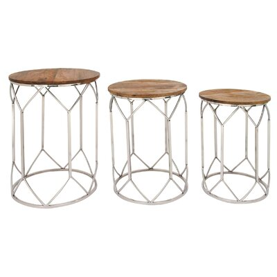 Matthies 3 Piece Nesting Tables
