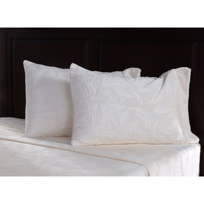 Farmhouse Feathers Plush Sheet Set Size: Twin