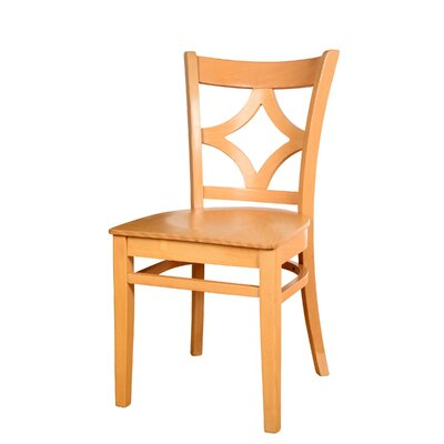 Fralick Solid Wood Dining Chair (Set of 2) Color: Natural