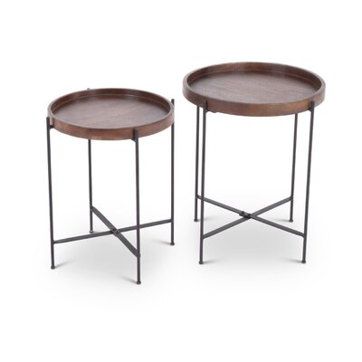 Wingfield 2 Piece Nesting Table Set