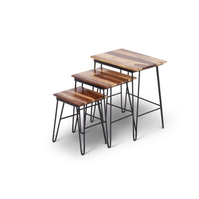 Ogletree 3 Piece Nesting Table set