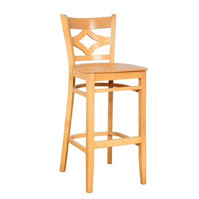 Fralick 30 Bar Stool Color: Natural