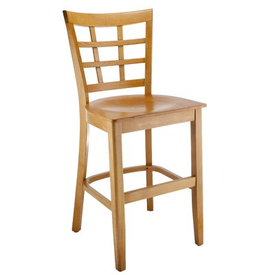 Harner 24 Bar Stool Color: Natural