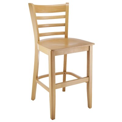 Jimison Ladderback 24 Bar Stool