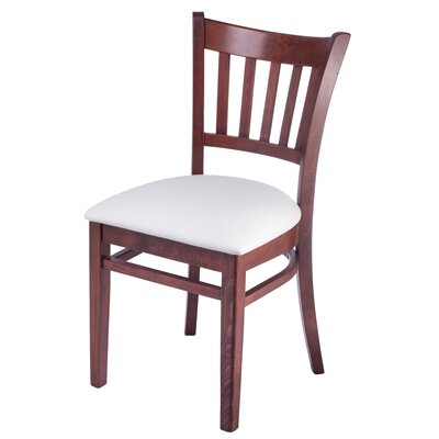 Jiles Slatback Solid Wood Dining Chair (Set of 2)