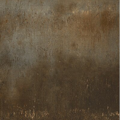 Steelwalk 24 x 24 Porcelain Field Tile in Rust