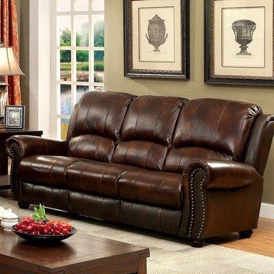 Bettis Sofa Upholstery: Brown