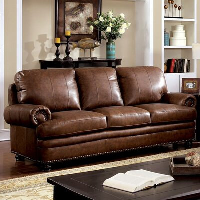 Hightower Sofa Upholstery: Brown