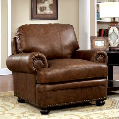 Hightower Armchair Upholstery: Brown