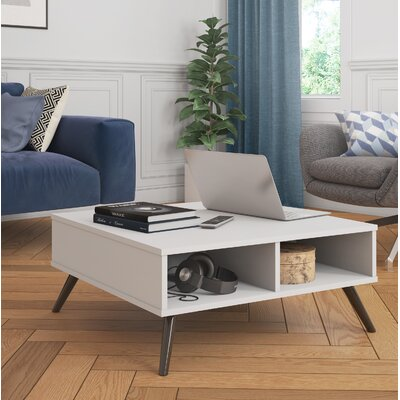 Daleville Coffee Table Color: White