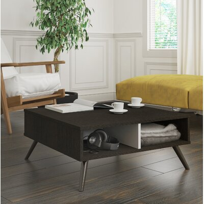 Daleville Coffee Table Color: Deep Gray/White