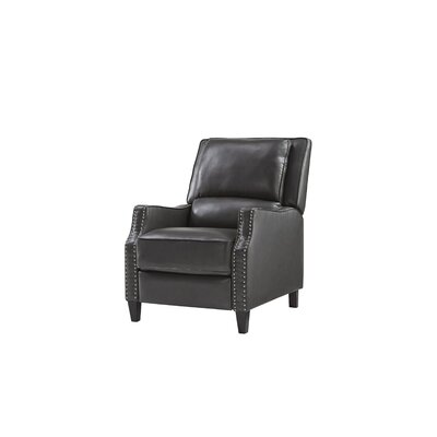 Gillies Manual Recliner Upholstery: Charcoal