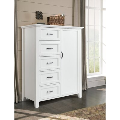 Eibhlin 5 Drawer Armoire