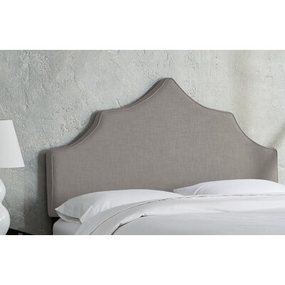Sutcliffe Upholstered Panel Headboard Size: Full, Color: Gray