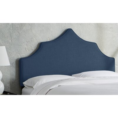 Sutcliffe Upholstered Panel Headboard Size: Twin, Color: Navy