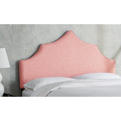 Sutcliffe Upholstered Panel Headboard Size: Queen, Color: Petal