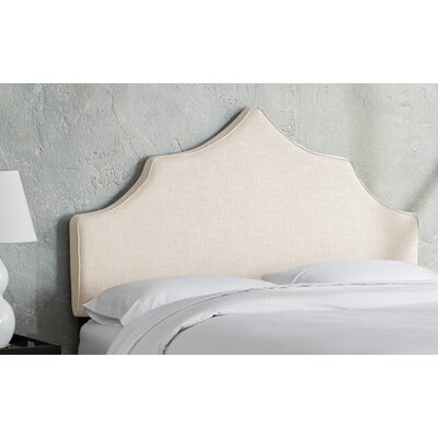 Sutcliffe Upholstered Panel Headboard Size: California King, Color: Talc
