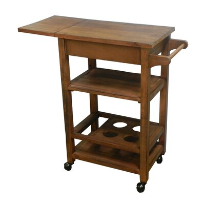Rourke Wooden Kitchen Cart