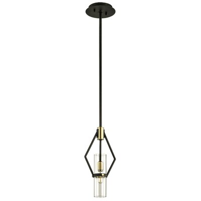 Easley 1-Light Mini Pendant Size: 64 H x 7 W x 7 D