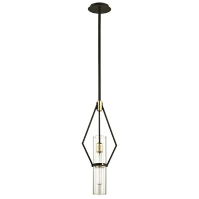 Easley 1-Light Mini Pendant Size: 73.25 H x 9.50 W x 9.50 D