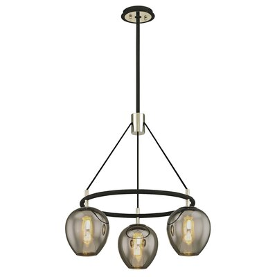 Hatley 3-Light Candle-Style Chandelier
