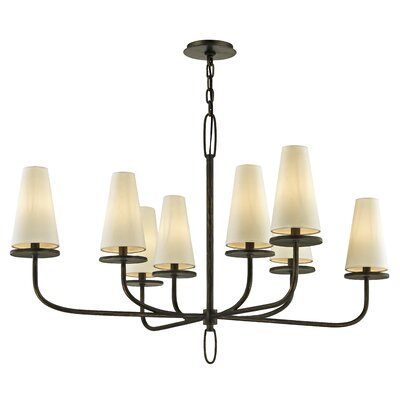 Oatman 8-Light Candle-Style Chandelier Finish: Bronze