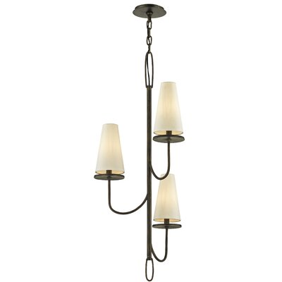Oatman 3-Light Candle-Style Chandelier Finish: Bronze