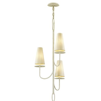 Oatman 3-Light Candle-Style Chandelier Finish: White
