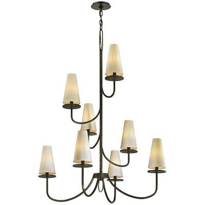 Oatman 8-Light Candle-Style Chandelier Finish: Bronze