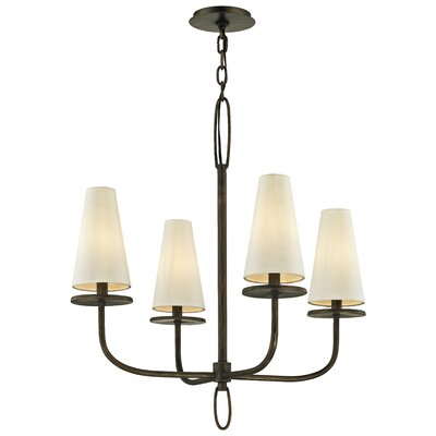 Oatman 4-Light Candle-Style Chandelier Finish: Bronze