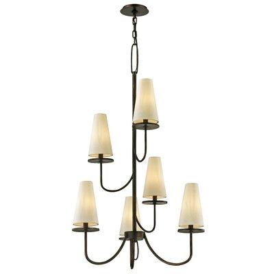 Oatman 6-Light Candle-Style Chandelier Finish: Bronze