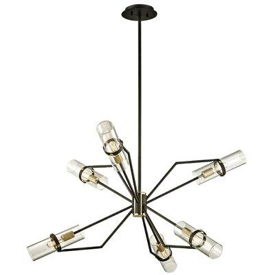 Easley 6-Light Sputnik Chandelier Size: 61.5 H x 36 W x 36 D