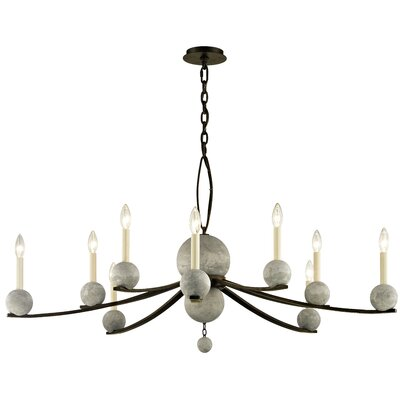 Ogletree 10-Light Candle-Style Chandelier