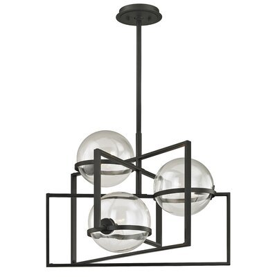 Earnest 3-Light Geometric Pendant