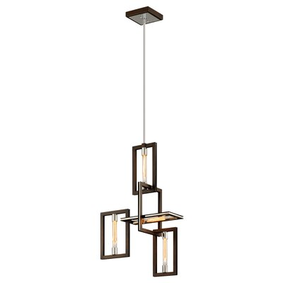 Earnhardt 4-Light Geometric Pendant